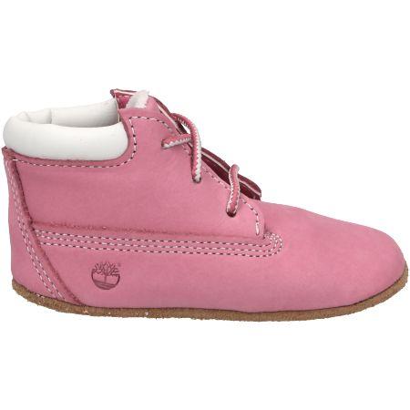 Timberland Crib Bootie with Hat - Pink - Seitenansicht