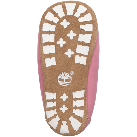 Timberland Crib Bootie with Hat - Pink - Sohle