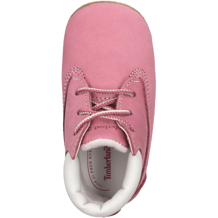 Timberland Crib Bootie with Hat - Pink - Draufsicht