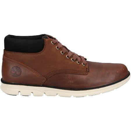 Timberland Bradstreet Chukka Leather - Braun - Seitenansicht