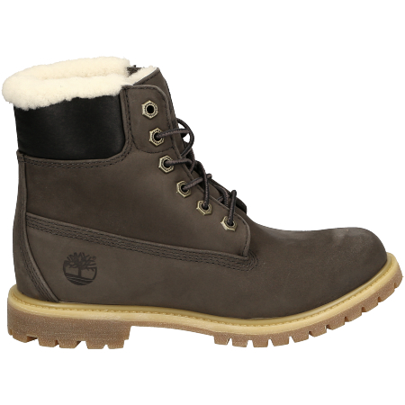 Timberland 6in Premium Shearling Lined WP - Grau - Seitenansicht