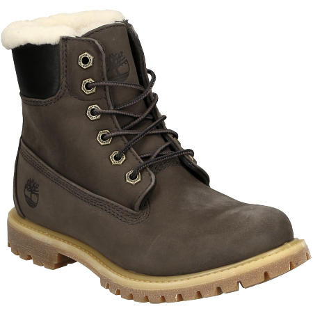 Timberland 6in Premium Shearling Lined WP - Grau - Hauptansicht