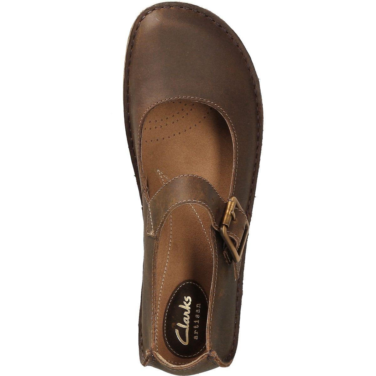 Clarks Janey June 26113313 4 Damenschuhe Ballerina im Schuhe