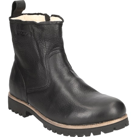 BLACKSTONE Herrenschuhe Blackstone Herrenschuhe Warmfutter OM BLACK OM63 BLACK