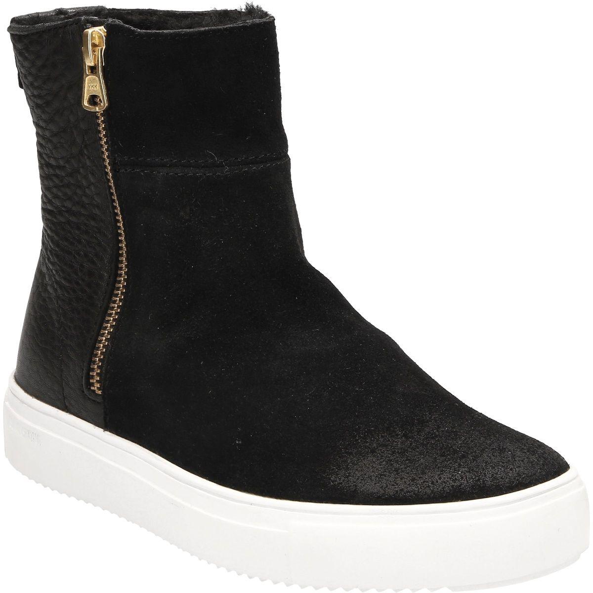 b4a4df4df516ad Blackstone QL49 BLACK Damenschuhe Stiefeletten im Schuhe Lüke Online ...
