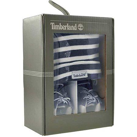 Timberland CRIB BOOTIE WITH HAT - Dunkelblau - Paar