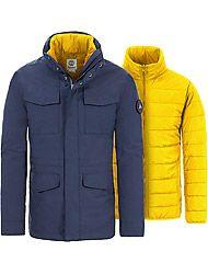 Timberland Kleidung Herren AMXVTB DV SNWDN 3N1 M65 DRESS BLUES
