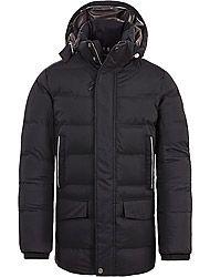 Timberland Kleidung Herren AMVE GOOSE EYE PARKA BLACK