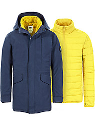 Timberland Kleidung Herren AMZTB DV 3N1 FSHTL PRKA DRESS BLUES