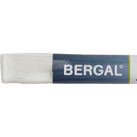 Bergal Satinsenkel - Weiß - Draufsicht