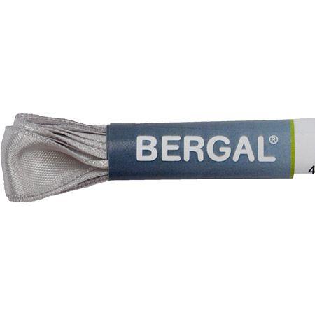 Bergal Satinsenkel - Hellgrau - Draufsicht