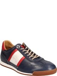 La Martina herrenschuhe L7071 182 BUTTERNO BLUE