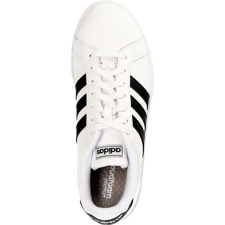 Adidas GRAND COURT - Weiß - Draufsicht