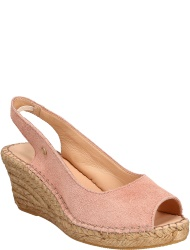 Fred de la Bretoniere Damenschuhe Rose