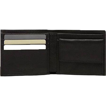 Timberland Bifold Wallet With Coin - Schwarz - Seitenansicht