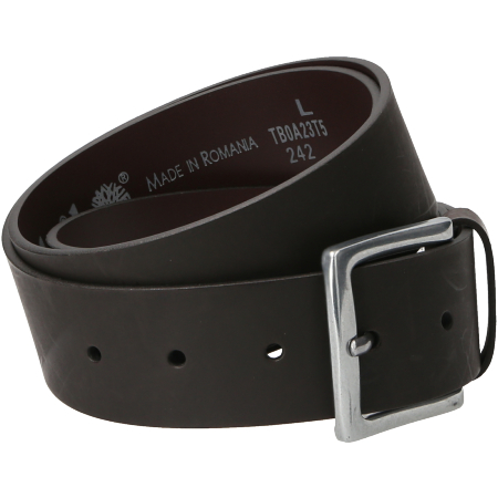 Timberland Casual Leather Man Belt - Braun - Seitenansicht