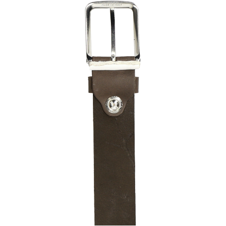 Timberland Man Cow Leather Belt - Braun - Sohle