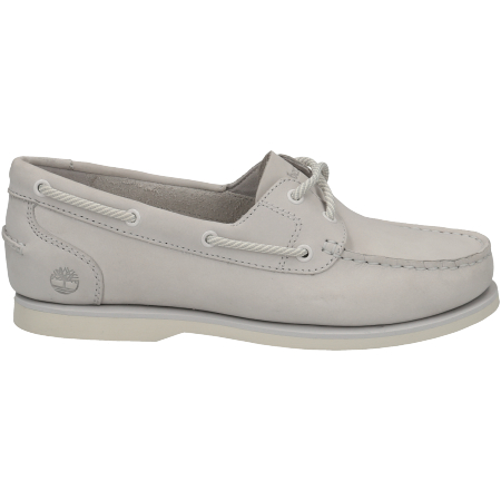 Timberland Classic Boat Unlined Boat Shoe - Weiß - Seitenansicht
