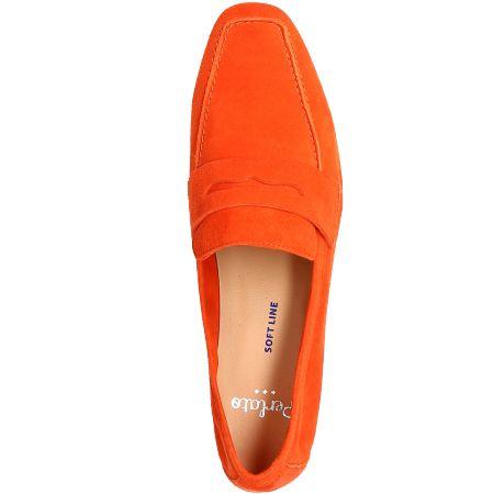 Perlato 11394 - Orange - Draufsicht