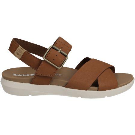 Timberland Wilesport Leather Sandal  - Braun - Seitenansicht