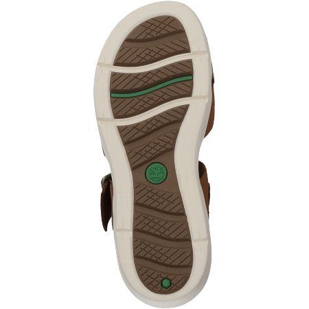 Timberland Wilesport Leather Sandal  - Braun - Sohle