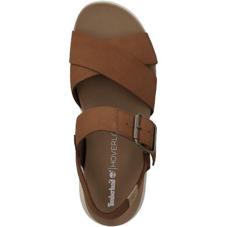 Timberland Wilesport Leather Sandal  - Braun - Draufsicht