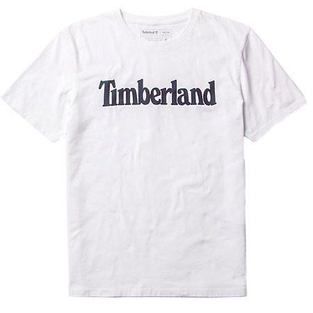 Timberland K-R Brand Reg Tee Lin - Weiß - Hauptansicht