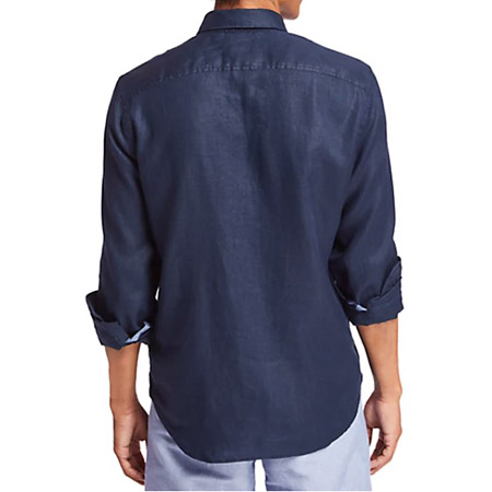Timberland LS Mill River Linen SF - Blau - Sohle