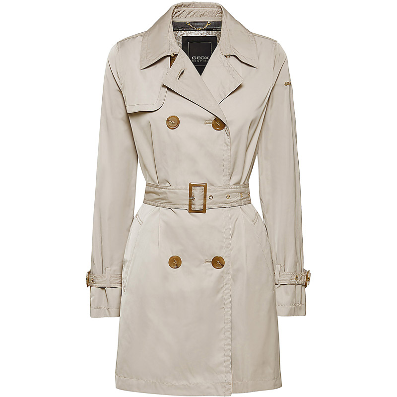 GEOX W0220F T2600 F5186 AIRELL TRENCH Kleidung Damen ...
