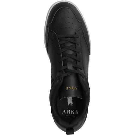 ARKK Copenhagen Visuklass Leather S-C18 - Schwarz - Draufsicht