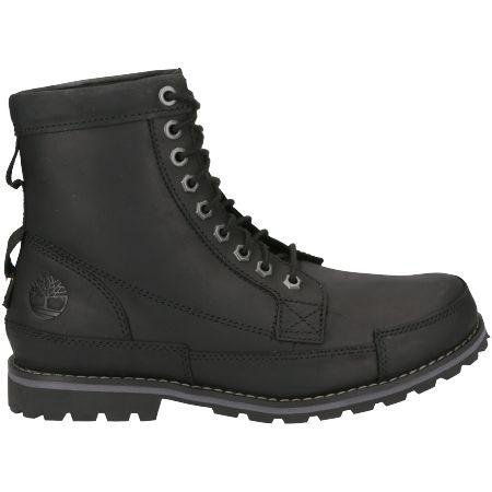 Timberland Originals II Leather 6 in Boot - Schwarz - Seitenansicht