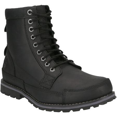 Timberland Originals II Leather 6 in Boot - Schwarz - Hauptansicht