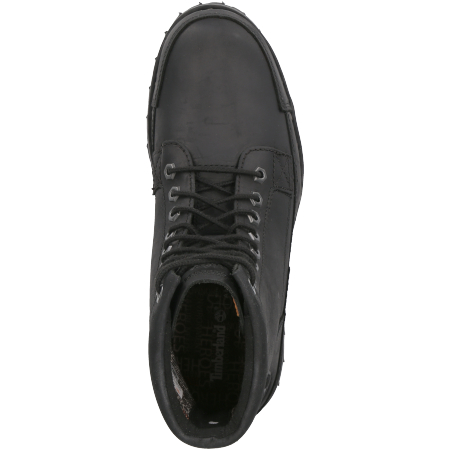 Timberland Originals II Leather 6 in Boot - Schwarz - Draufsicht