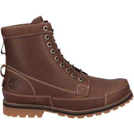 Timberland Originals II Leather 6 in Boot - Braun - Seitenansicht