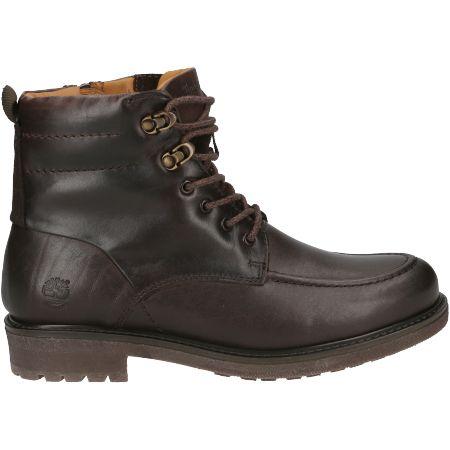 Timberland Oakrock WP MT Zip Boot - Braun - Seitenansicht