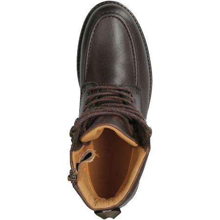Timberland Oakrock WP MT Zip Boot - Braun - Draufsicht