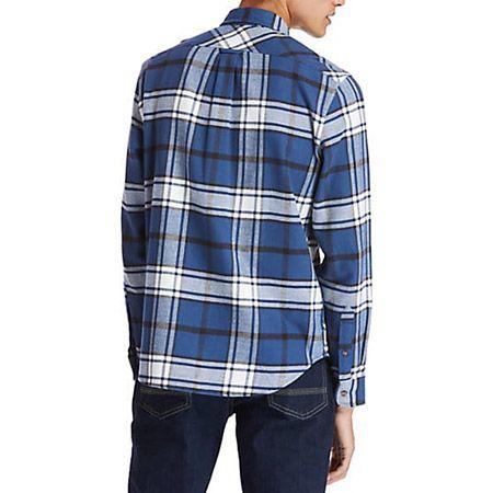 Timberland LS Heavy Flannel check - Blau, kombiniert - Sohle