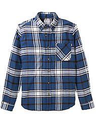 Timberland Kleidung Herren LS Heavy Flannel check