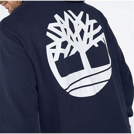 Timberland Core Logo FZ Hoodie - Blau - Draufsicht