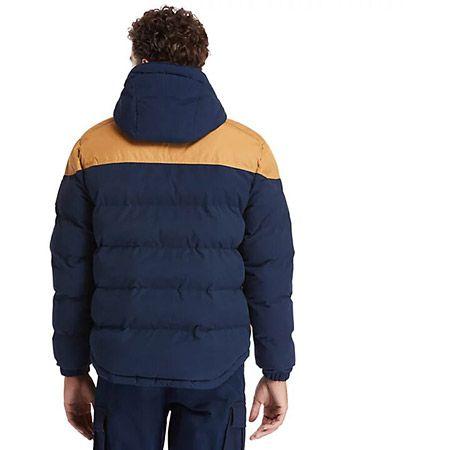 Timberland Puffer Jacket - Blau - Seitenansicht