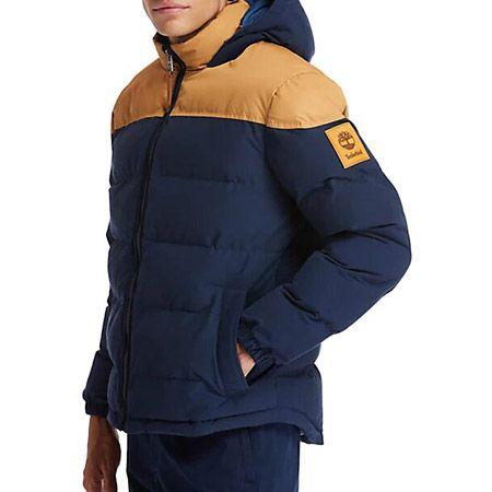 Timberland Puffer Jacket - Blau - Draufsicht