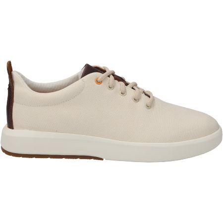 Timberland TrueCloud EK+ Canvas Sneaker - Weiß - Seitenansicht