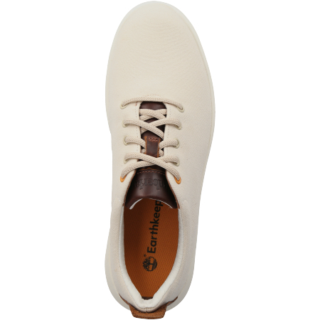 Timberland TrueCloud EK+ Canvas Sneaker - Weiß - Draufsicht