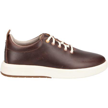 Timberland TrueCloud EK+ Leather Sneaker - Braun - Seitenansicht