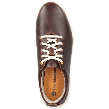 Timberland TrueCloud EK+ Leather Sneaker - Braun - Draufsicht