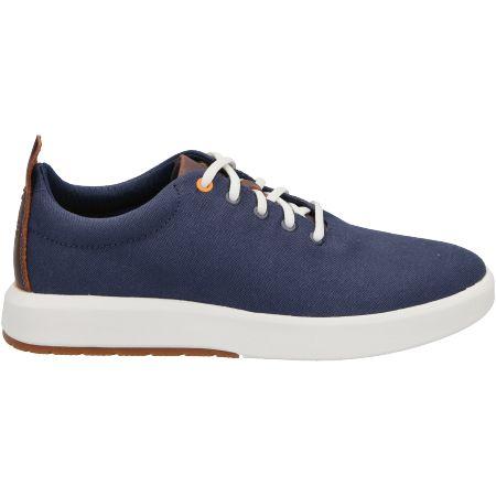 Timberland TrueCloud EK+ Canvas Sneake - Blau - Seitenansicht