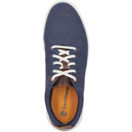 Timberland TrueCloud EK+ Canvas Sneake - Blau - Draufsicht
