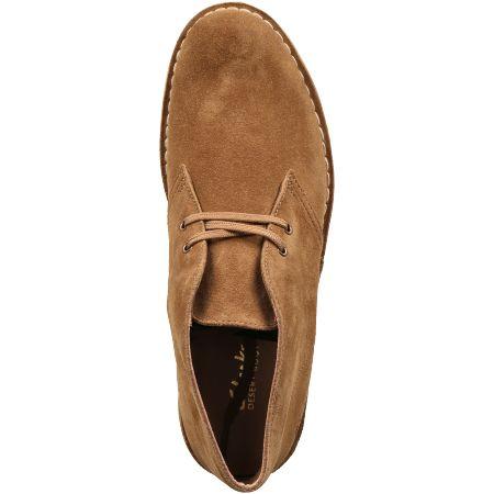 Clarks Desert Boot - Braun - Draufsicht
