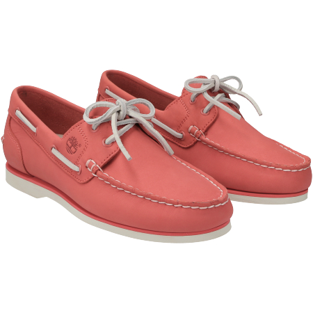 Timberland Classic Boat Amherst 2 Eye Boa - Rot - Paar