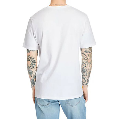Timberland SS FT Tree Tee - Weiß - Sohle